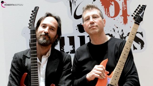 Le chitarre dei Bluvertigo - 11 maggio 2017 - Arengario di Monza