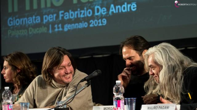 Roberta Sotgiu - Il mio Fabrizio De André 2019 Palazzo Ducale Genova