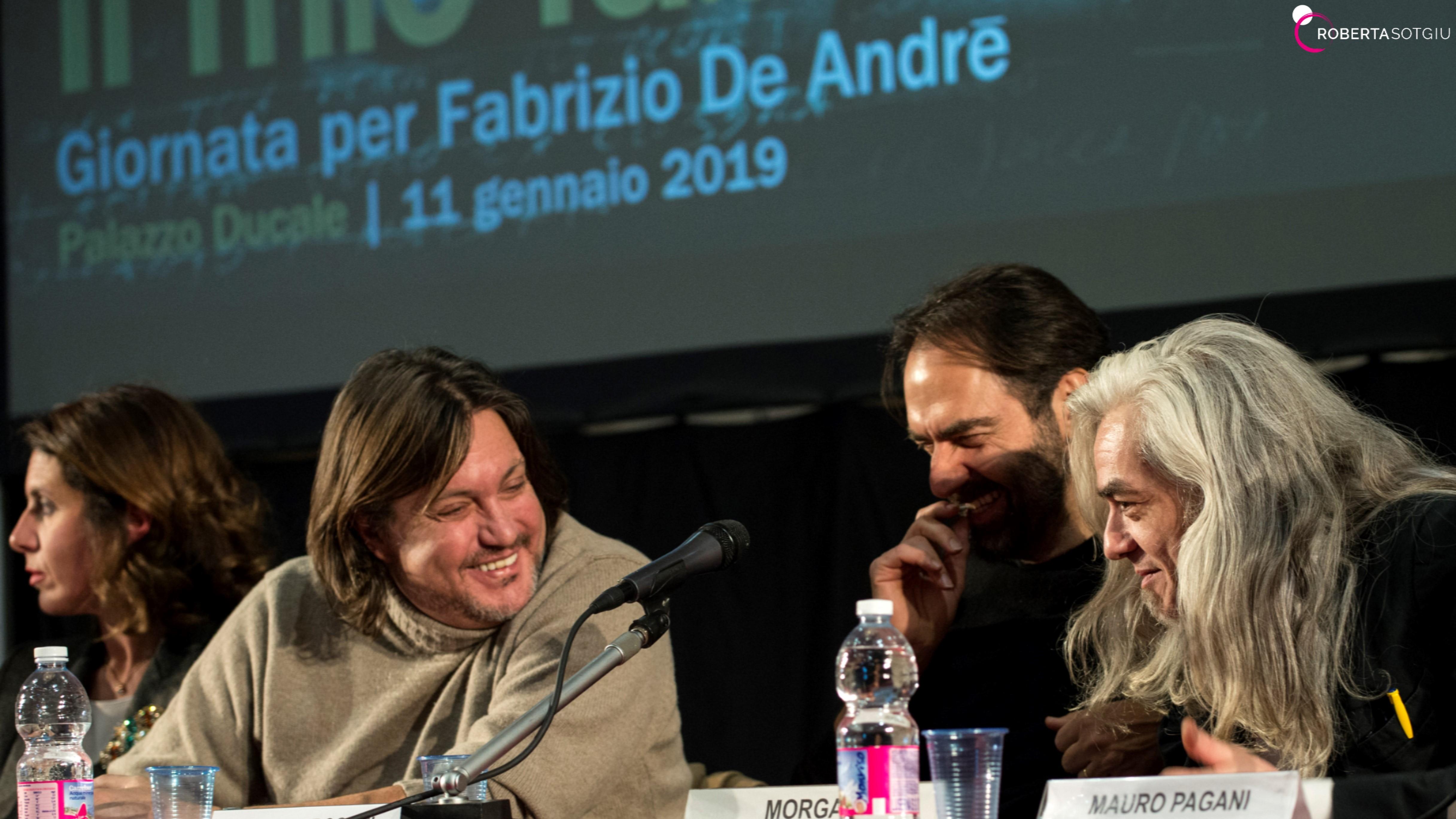 Il mio Fabrizio. Giornata per Fabrizio De André – 11 gennaio 2019 – Palazzo Ducale, Genova